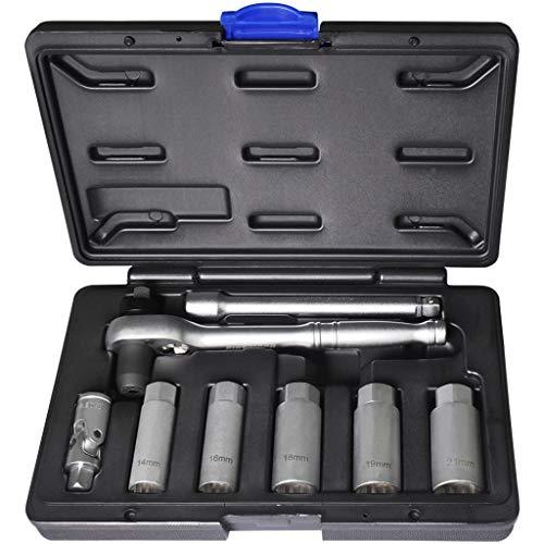 Fit Tools 8pz 3/20,3cm Torque Limited a cricchetto e a bussola per candela kit