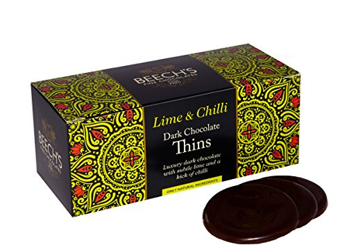 Beech's Lime & Chilli Dark Chocolate After Dinner Thins 150g