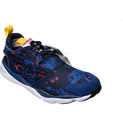 Reebok Classic Furylite SOC Schuhe Herren Sneaker Turnschuhe Blau V72367 Blau