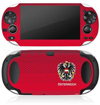 DeinDesign Sony PS Vita Case Skin Sticker aus Vinyl-Folie Aufkleber Österreich EM Trikot Fußball Europameisterschaft