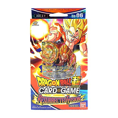 Bandai BCLDBST1206 Dragon Ball Super Card Game: Starter Deck-Resurrected Fusion