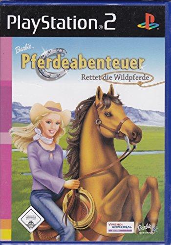 Barbie Pferdeabenteuer - Rettet die Wildpferde (Barbie Ps2)