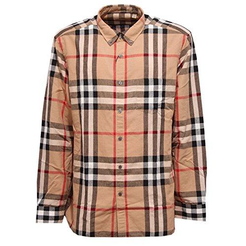 Burberry 0330w camicia uomo london england shirt men [xxl]