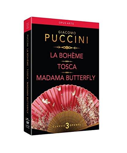 Puccini: La Boheme / Tosca / Madama Butterfly [6 DVDs]