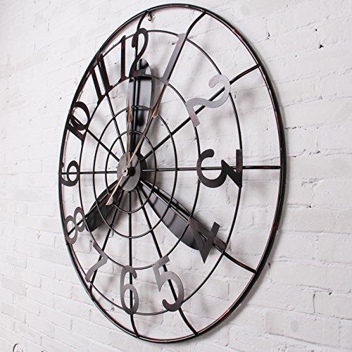 SL&HEY Ventilatore da parete orologio / Retrò