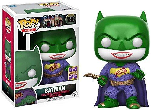funko pop suicide squad Funko - Figurine DC Heroes Suicide Squad - Joker As Batman Exclu Pop 10cm - 0889698144872