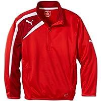 Puma Jacke Spirit Half Zip Training Jacket - Chubasquero para hombre, color rojo/rojo / blanco, talla 16 años (170 cm)