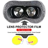 Onlyonehere Displayschutzfolie, HD Lens Protector Klarsichtfolie für Valve Index Virtual Reality