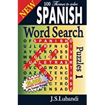 New SPANISH Word Search Puzzles: Volume 1