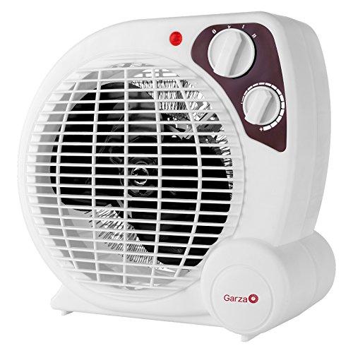 Garza Suria - Calefactor termoventilador electrico de sobremesa, potencia 1800W
