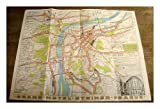 Grand Hotel Steiner Praha : promotional fold-out colour map of Prague