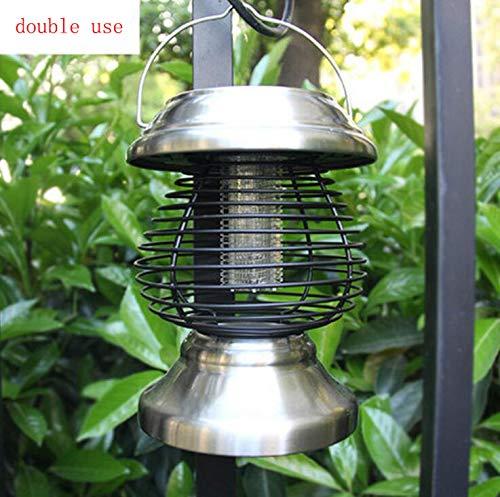 JKYQ Stromschlag Beleuchtung im Freien Haushalt Mückenschutz tragbare Solarmückenvernichter Hersteller Großhandel Neue LED-Mückenlampe