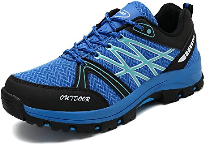GLSHI Männer Casual Spitz Derby 2018 Sommer Stitching Pattern Low Heel Schuhe Komfort Party Schuhe