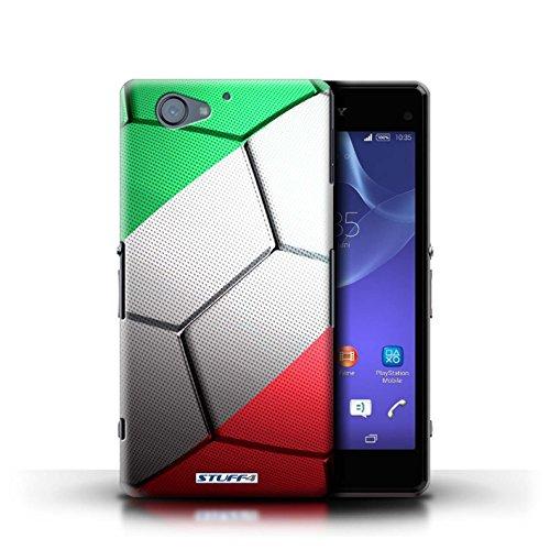 Kobalt® Imprimé Etui / Coque pour Sony Xperia A2 / Espagne/Espagnol conception / Série Nations de Football Italie/Italien