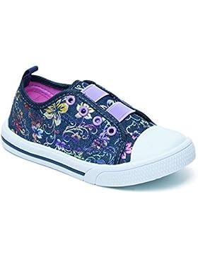 Foster Footwear - Zapatillas de Lona para niña Rosa rosa 36.5