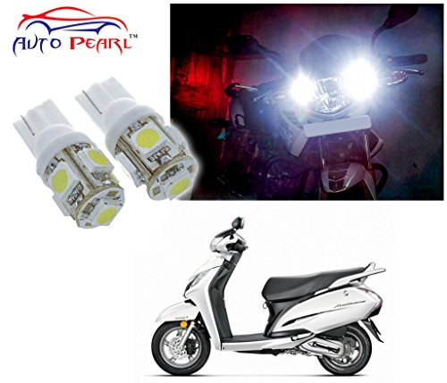 Auto Pearl - LED Parking Bulb Pilot Light / Daytime Running Lens Led Light T10 (3W) For - Honda Activa 125  available at amazon for Rs.274