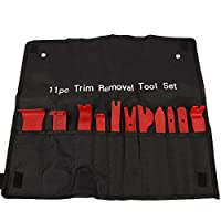 11 Pcs Car Door Panel Fastener Clip Removal Tool Kit