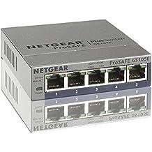 Netgear GS105E-200PES - Smart switch gestionable de 5 puertos Gigabit