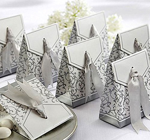 Süßigkeit Kasten Silber (10PCS / group) (Zucker Schädel Hochzeit)