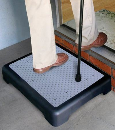 Portable Half Step Stool Mobilit...