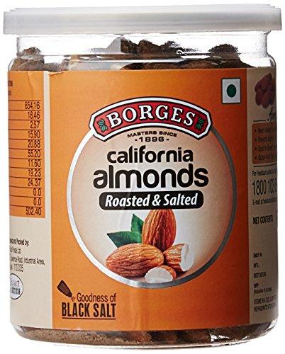 Borges California Almonds Black Salt 9, 300g