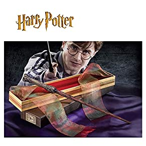 The Noble Collection-NOB00NN7005 Harry Potter Varita En Caja De Ollivander, Multicolor, Standard (NN7005)