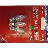LED Birne 3-er Bilster 24V 0,3W, E10