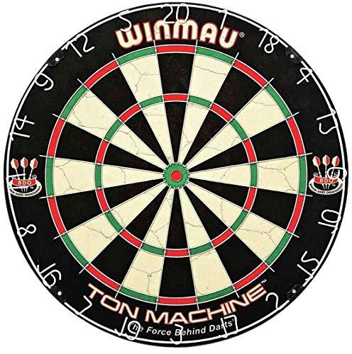 Bully Darts Winmau TON Machine - Bersaglio per Freccette, con Punta in Acciaio