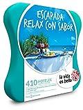 LA VIDA ES BELLA - Caja Regalo - ESCAPADA RELAX CON SABOR - 410 hoteles hasta 5* con spa