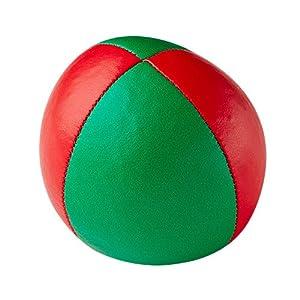Henrys j05010 B16 - Bolsas de Frijol de Primera Calidad, diámetro 67 mm, Rojo / Verde