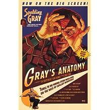 Anatomia del Gray poster film 11x 17in, 28x 44cm, Spalding Grigio Mike McLaughlin Melissa Robertson Alvin Henry
