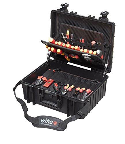 Wiha Elektriker VDE Werkzeugkoffer XL, 80 teilig, 9300702