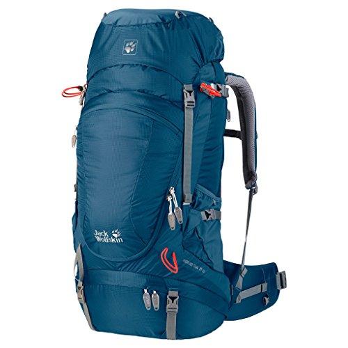 Jack Wolfskin Herren Rucksack Highland Trail XT, Moroccan Blue, 58 x 33 x 13 cm, 50 Liter, 2003021-1800