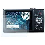 Bruni Schutzfolie für Canon Digital IXUS 170/172 Folie - 2 x glasklare Displayschutzfolie