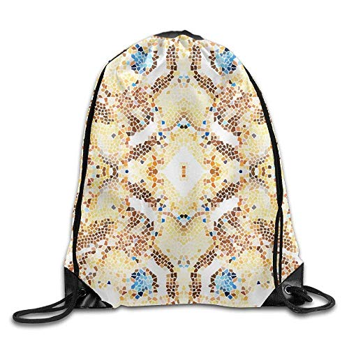 Mosaic Colorful Pattern For Wallpapers Design And Backgrounds Hiking Gym Backpack