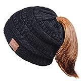 EVERSEE Bluetooth Chapeau Idées Cadeaux Personnalisées - Bluetooth Bonnet Chapeau Cadeau de Noël de Femme, Musique HD et Les Appels Bluetooth Chapeau, Doux Chaleureux Bluetooth Musique Chapeau Hiver