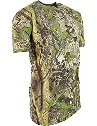 Kombat UK - Camiseta de Caza para niños, Infantil, 5060545657102, English Hedgerow,