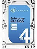Seagate Enterprise NAS HDD - 4 TB - interne Festplatte, ST4000VN0001 (3,5 Zoll), 7200rpm, 128 MB Cache, SATA III für NAS-Betrieb