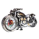 TOOGOO(R) Quartz Analoge Wecker Alarm Super Cool Motorrad Modell Alarm kreativ Retro Geschenk Decor