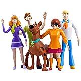 NJ Croce Scooby-DOO Bendable Figures (Set of Five) SD 5300