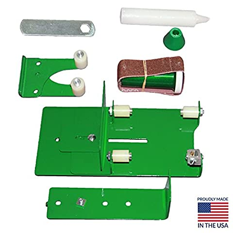 Glass Bottle Cutter Kit - Glass Cutter for Beer Bottles - Wine Bottle Cutting Tool to Cut Wine Glasses from Wine Bottles - Ephrem's Deluxe Bottle Cutter Tool with Extreme Size Attachment and Adaptor