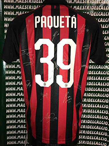 273f4c52da maglia milan autografata usato Spedito ovunque in Italia
