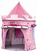 È tempo di giocare per la tua piccola principessa e ora lei può essere regina del suo castello rosa in questo favoloso pop up casa di gioco .  Con le sue numerose caratteristiche che può avere ore di divertimento al chiuso o all'aperto , men...