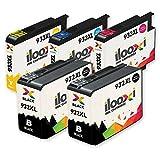 Ilooxi 5X Druckerpatronen Kompatibel für HP 932 XL HP 933 XL für HP Officejet