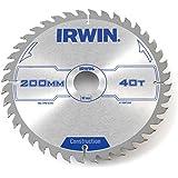 IRWIN IRW1897202 200 x 30 mm 40 dents Lame de scie circulaire dents Grind ATB
