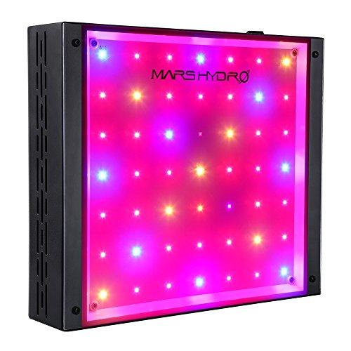 MARS HYDRO ECO 300W 600W LED Grow Lampe Wachstumslicht Wachstumslampe Vollspektrum für Hydroponik Zimmerpflanzen Blumen und Gemüse (ECO 300W)