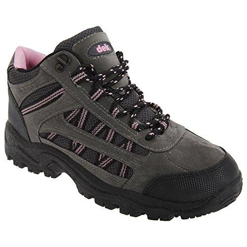 Dek Grassmere - Chaussures montantes de randonnée - Femme Gris/Rose