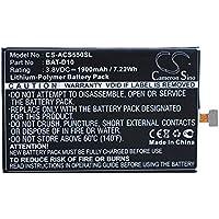 Cameron Sino 1900mAh Batería BAT-D10 para Acer Liquid Jade S, Liquid Jade Z, S56, S57