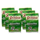 6x DOMINO Kaffeepads Haselnuss (á 18 Pads)