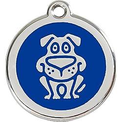 Red Dingo Médaille pour Chien Bleu 38 mm